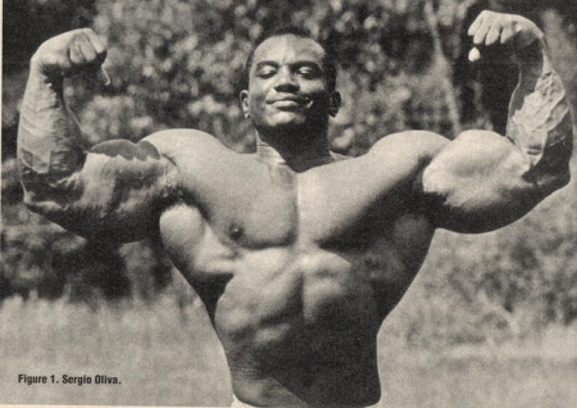 Sergio Oliva Biceps