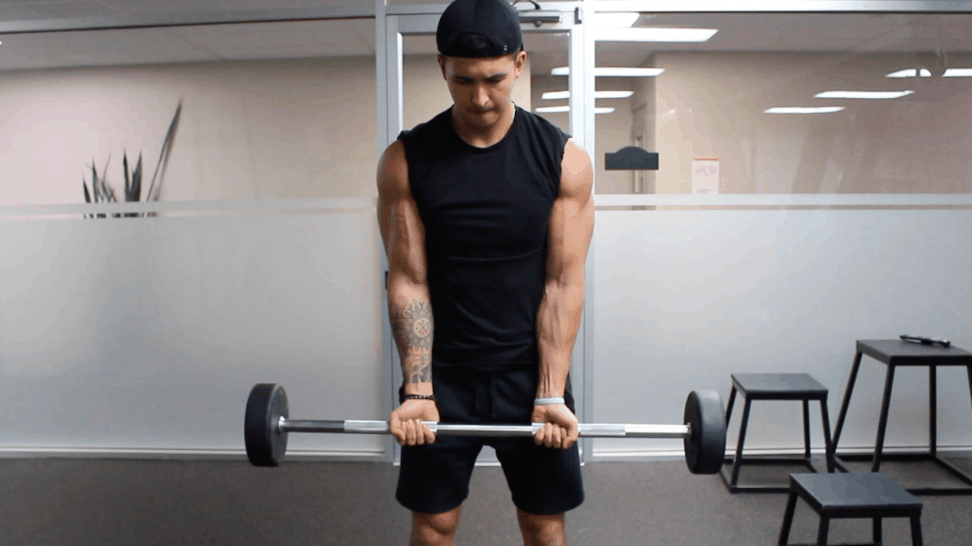 narrow grip bicep curls