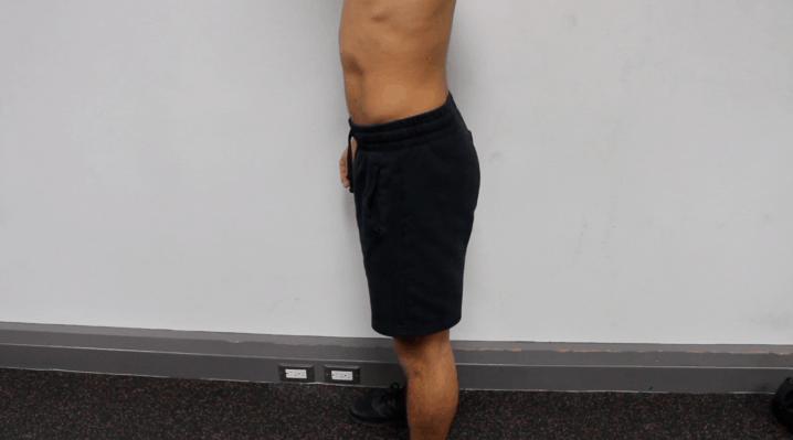 normal anterior pelvic tilt