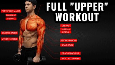 upper body workout thumbnail
