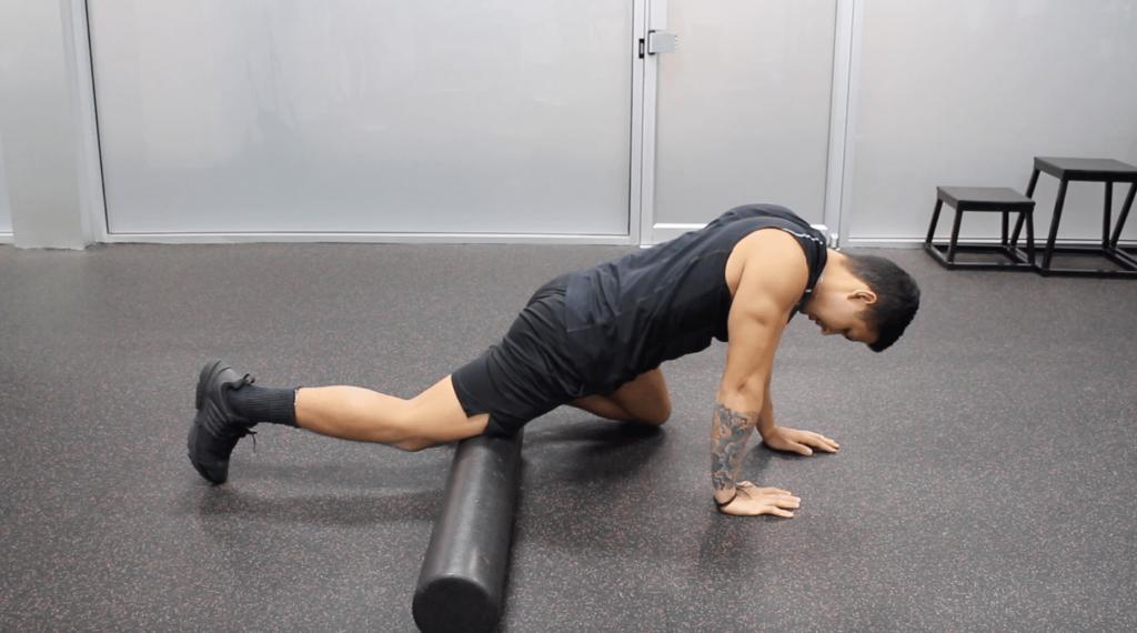 foam rolling to reduce muscle soreness