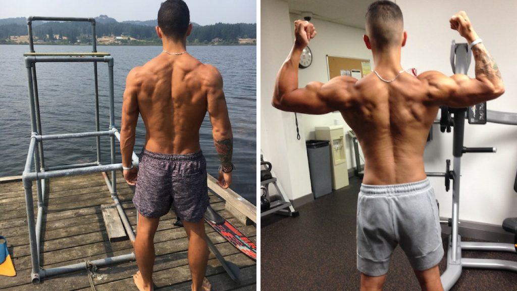 back workout progression