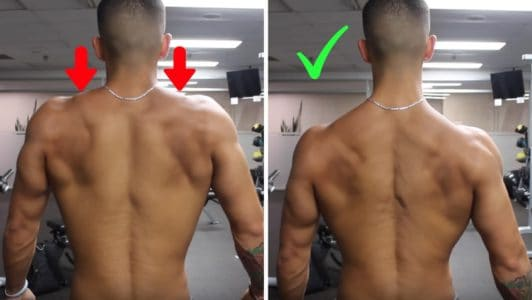 back muscle activation cues