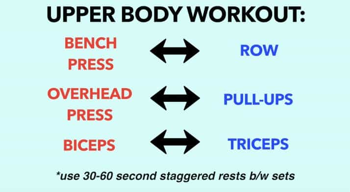 superset workout