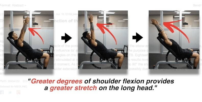 long head triceps stretch
