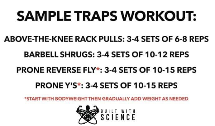 sample trap workouts