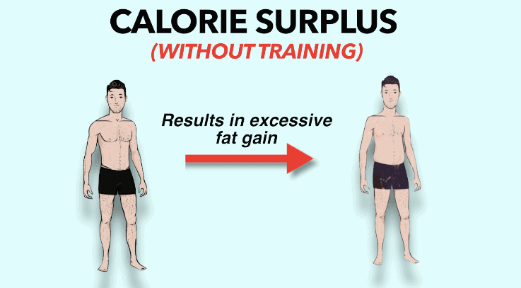 calorie surplus to avoid muscle loss
