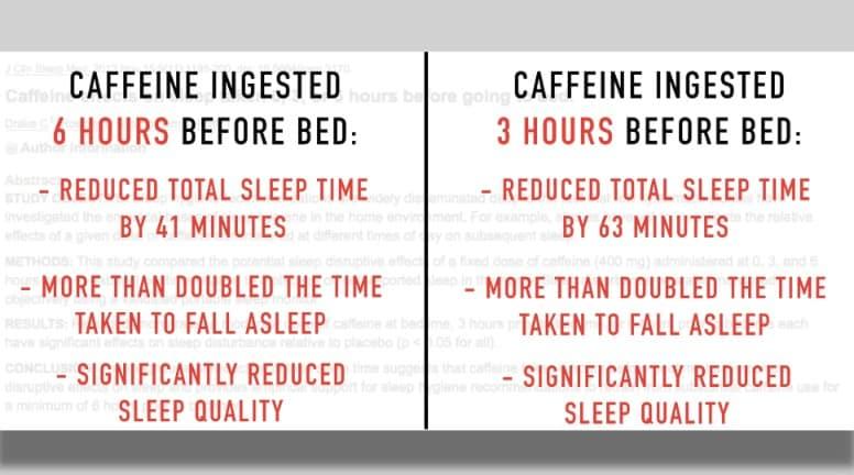 pre workout and sleep