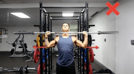 overhead press elbows form