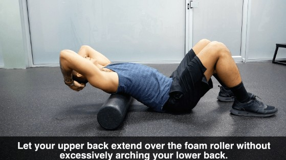 foam roller thoracic extension