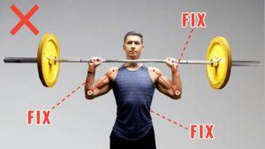 how to get bigger shoulders (overhead press and shoulder press tutorial)-min