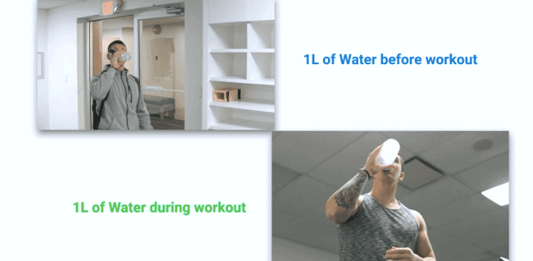 hydration for gym performance