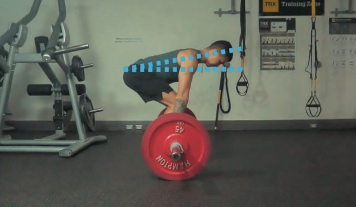 conventional deadlift form