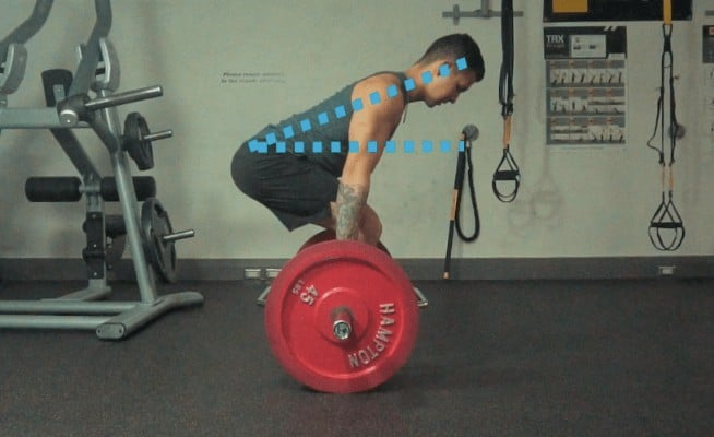 trap bar deadlift form
