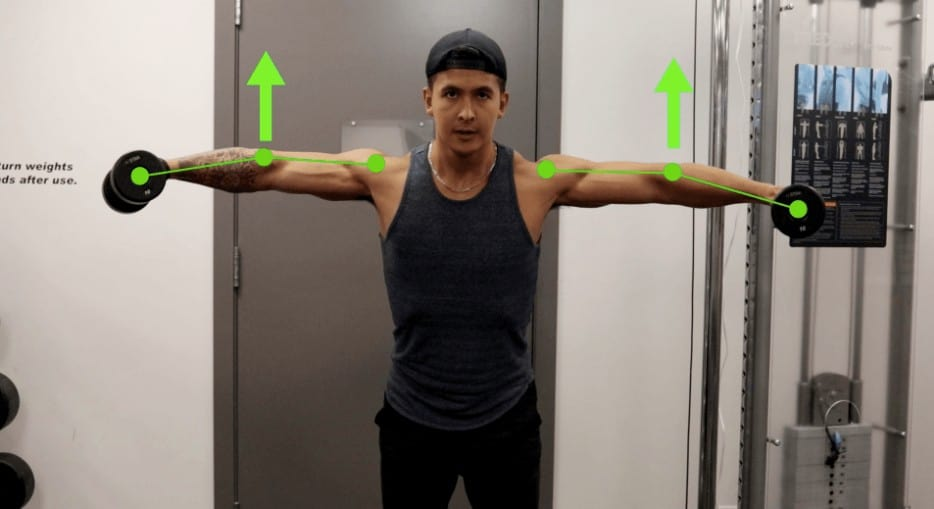 lateral raises proper form