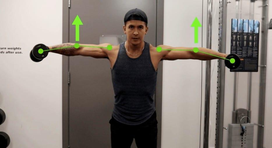 lateral raises proper form
