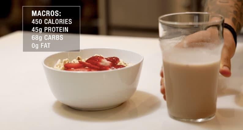 post workout shake recipe