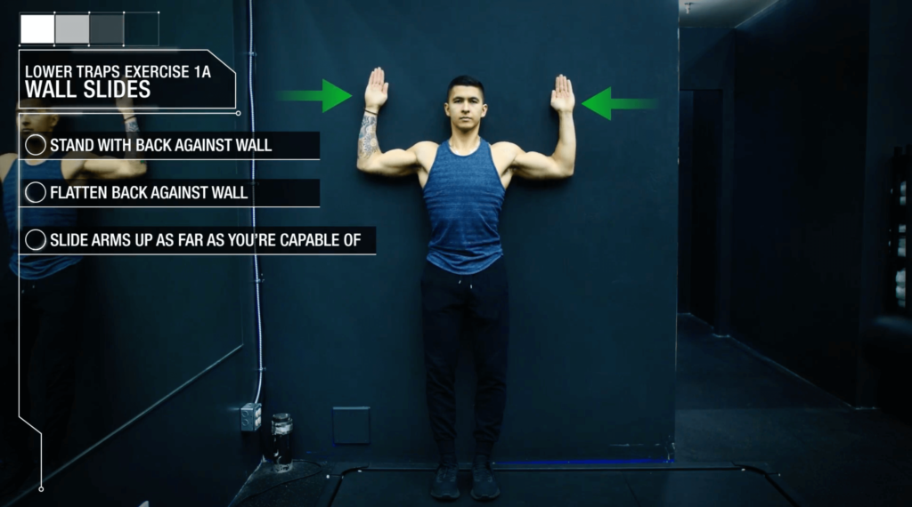 Best way to fix muscle imbalance wall slides