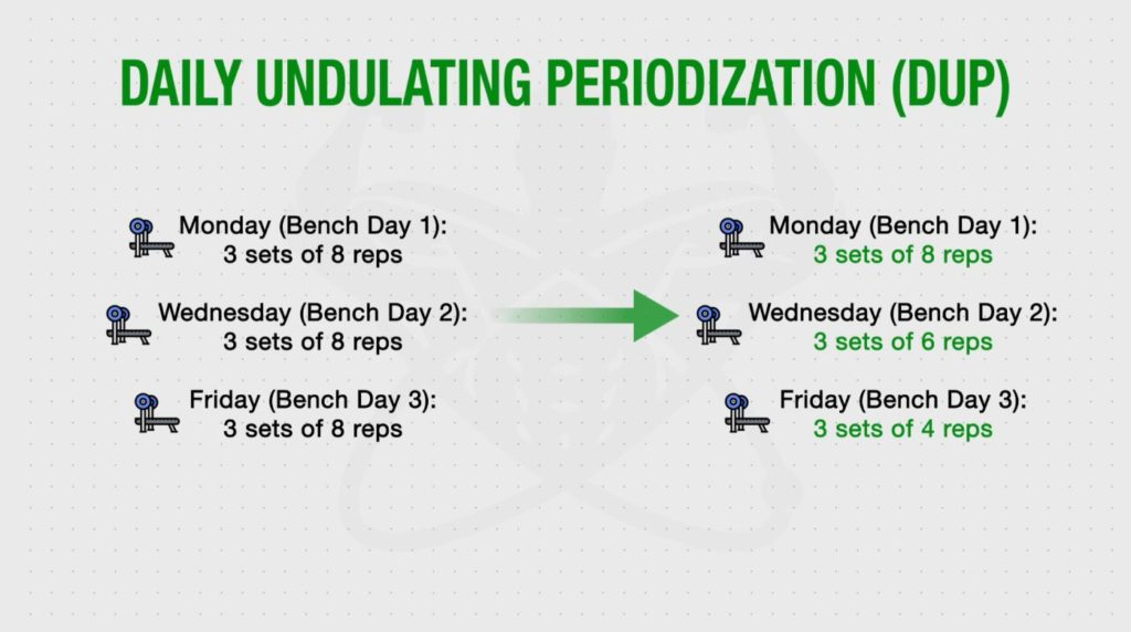 Daily undulating periodization