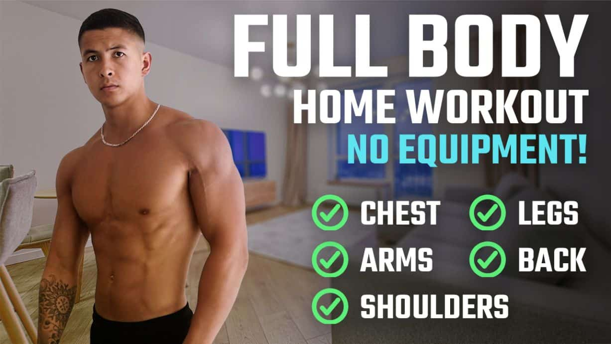 Full body workout at home thumbnail