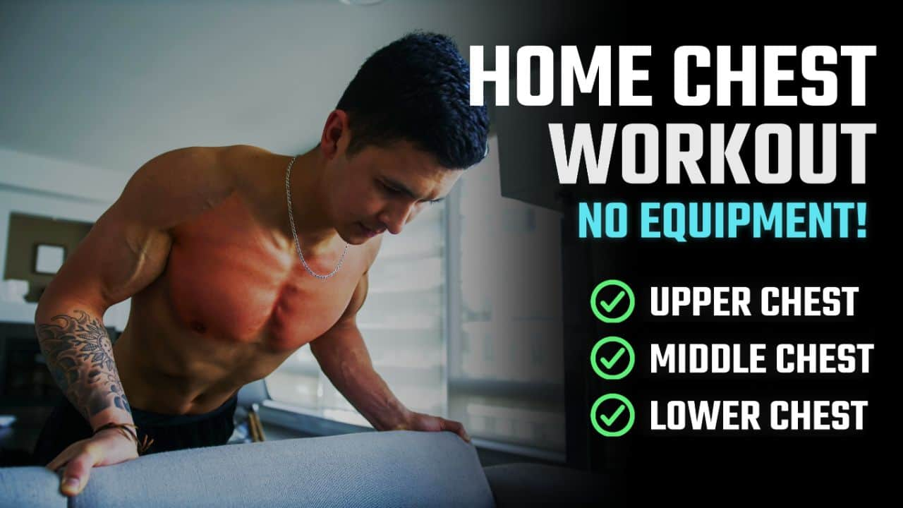 at home chest workout thumbnail