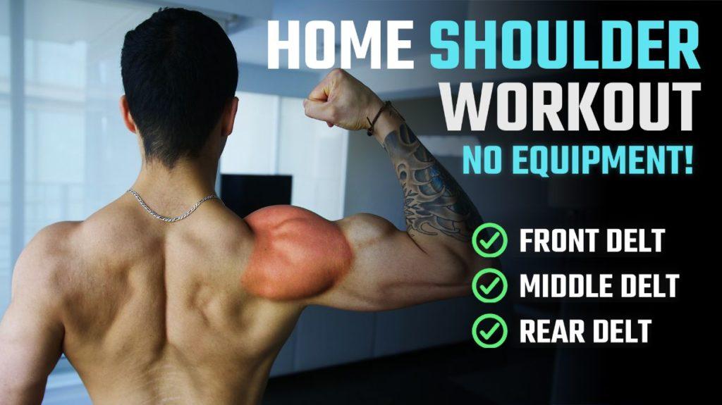 Home Shoulder Workout Thumbnail