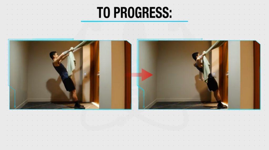 Progress rear delt rows
