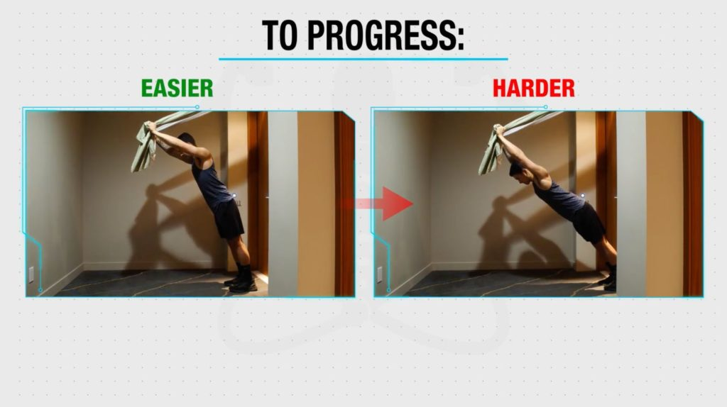Progress straight arm pulldown