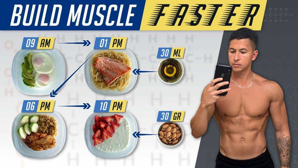 How to eat to build muscle faster thumbnail