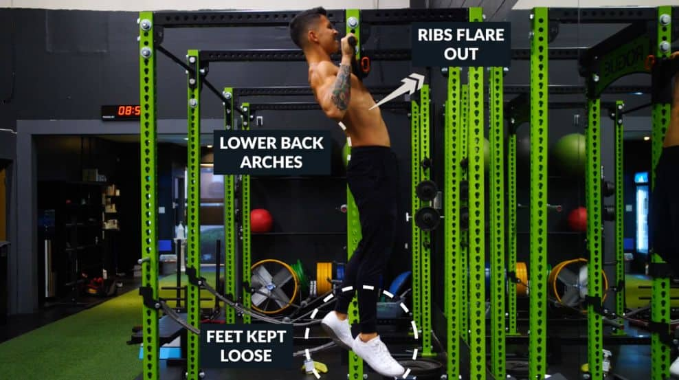 Inefficient pull up form
