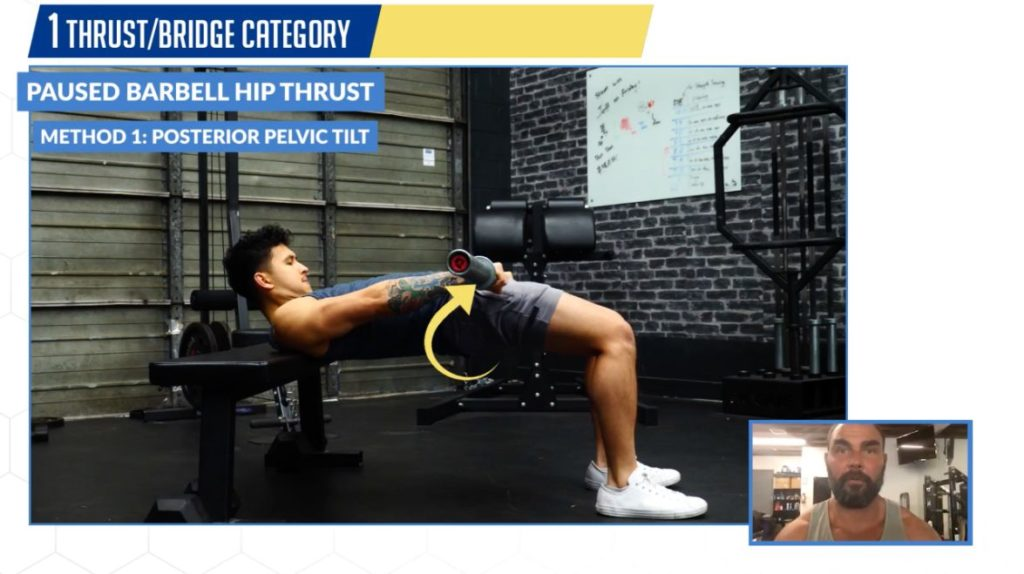 Best glutes exercises hip thrust