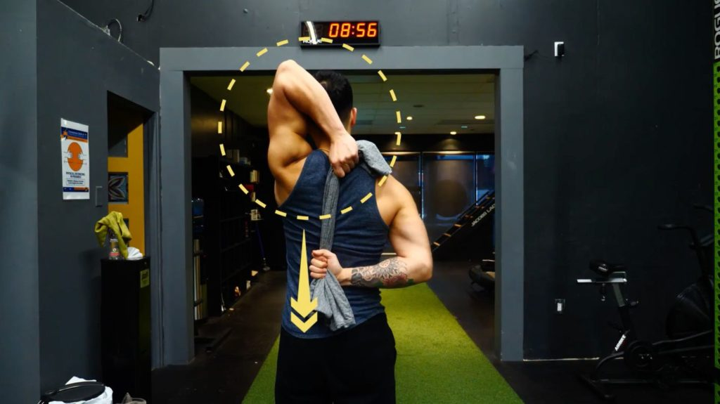 Mobility training for the shoulders
