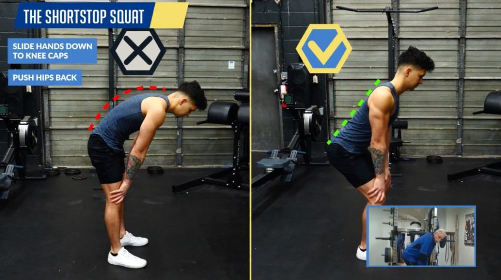 How to perform the short stop squat