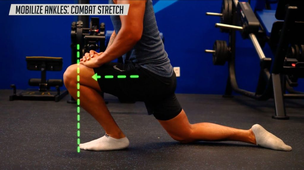 How to mobilize ankles with the combat stretch