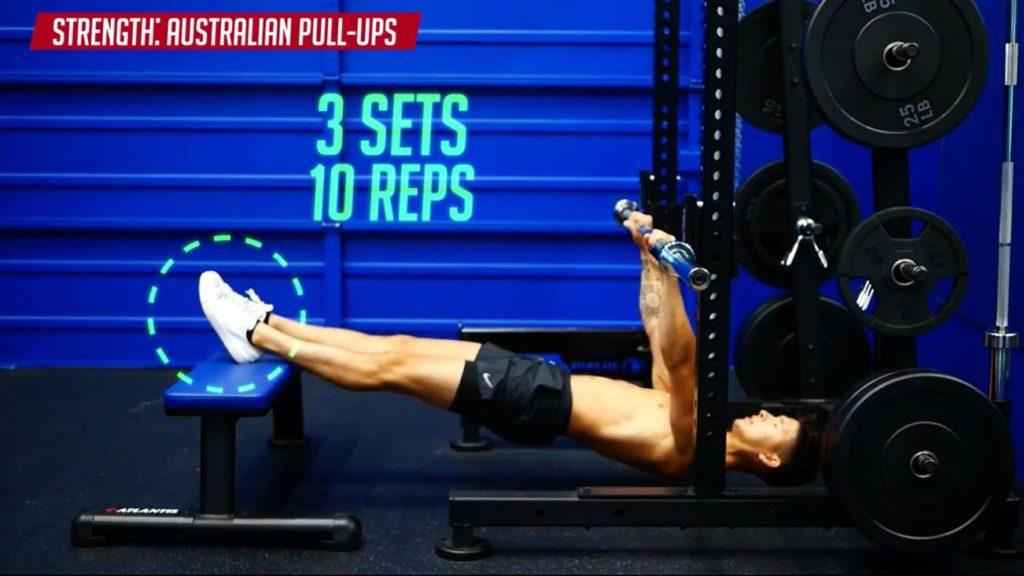 How to progress Australian pull ups